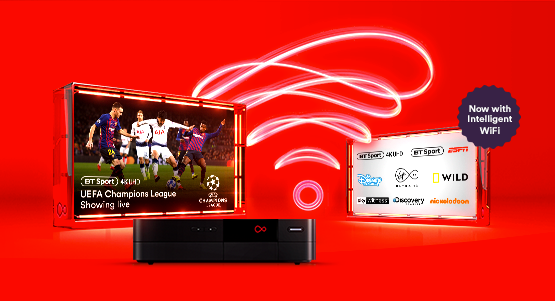 Virgin Media Full House bundle with Intelligent WiFi