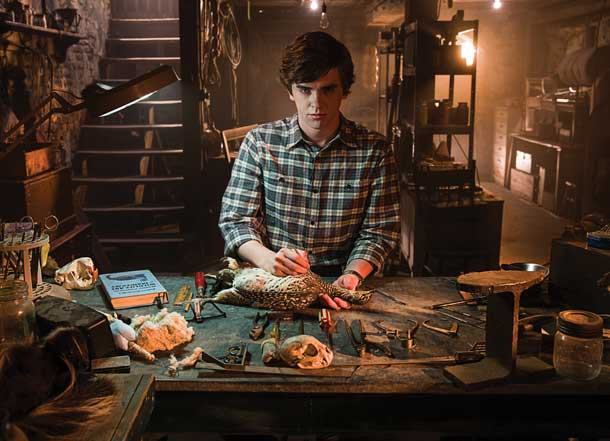Interview: Freddie Highmore talks Bates Motel