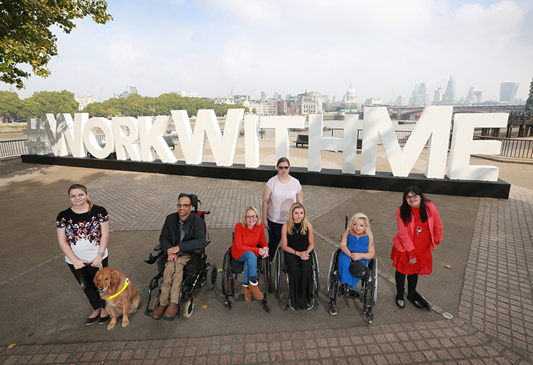 Making good things happen for one million disabled people