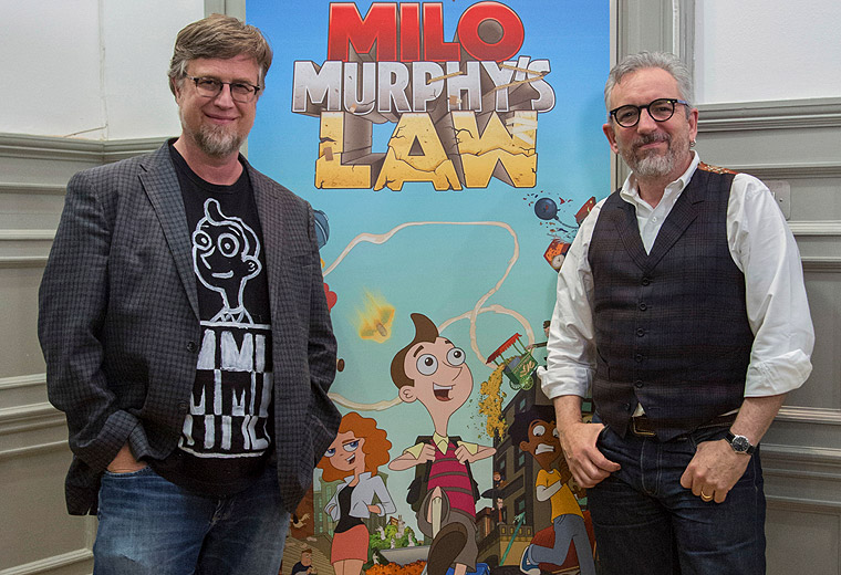 Milo Murphy's Law: Interview and animation masterclass