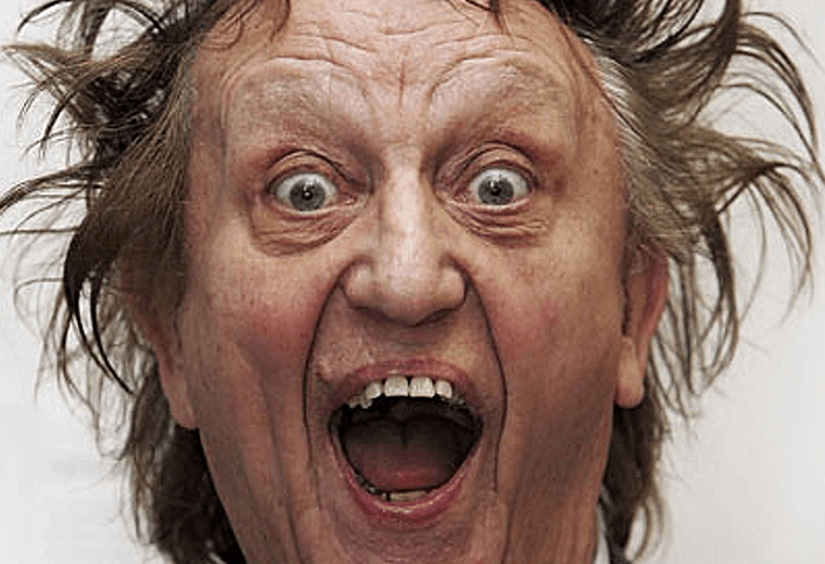 Ken Dodd, his teeth are worth an impressive £4m.