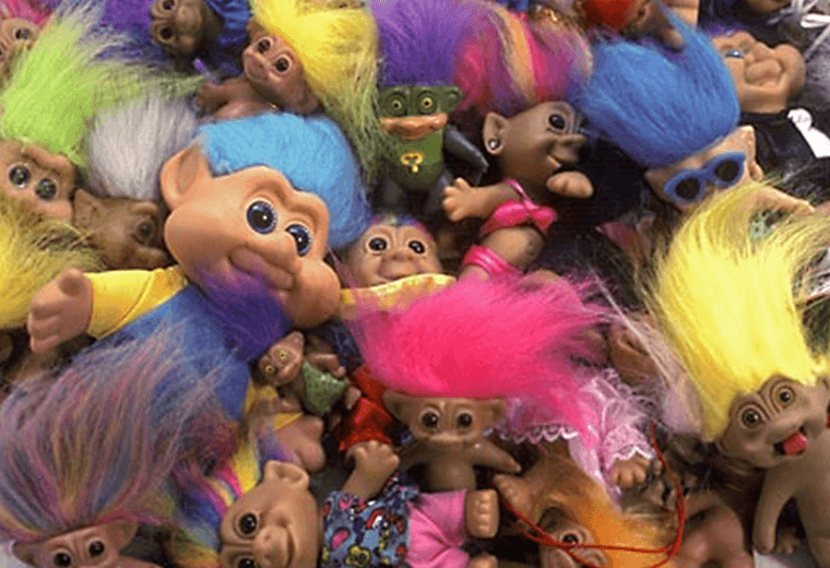 Pile of Trolls toys
