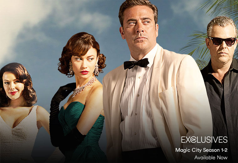 Watch Magic City, exclusive to Virgin Media