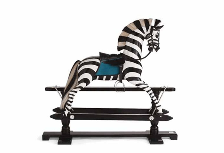 When a plain old rocking-horse just won't do.