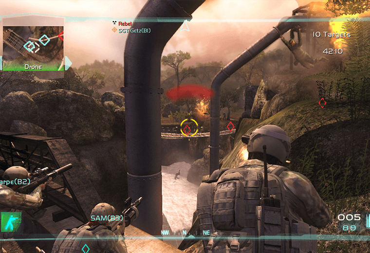Ghost Recon: Advanced Warfighter 2 - the most refined tactical shooter around.