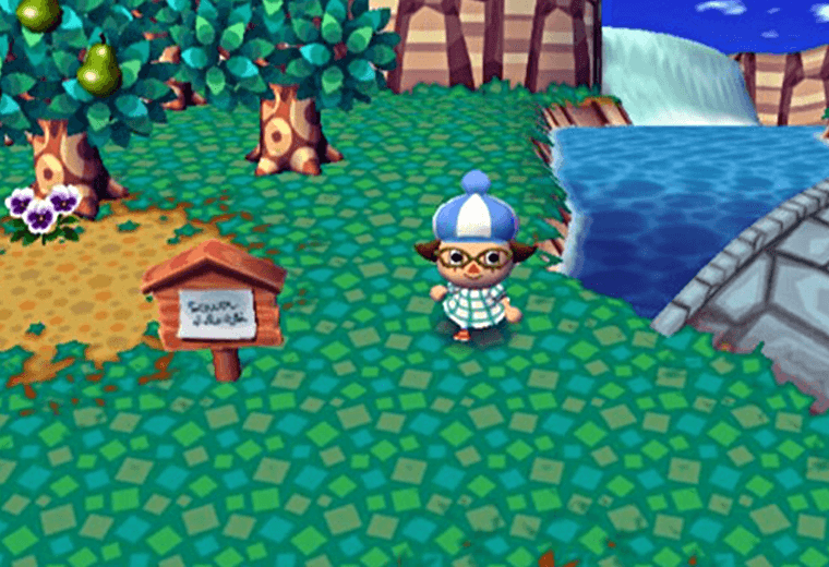 Video style from Animal Crossing game
