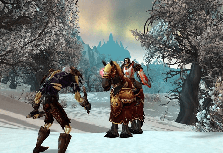 Video still from World of Warcraft game