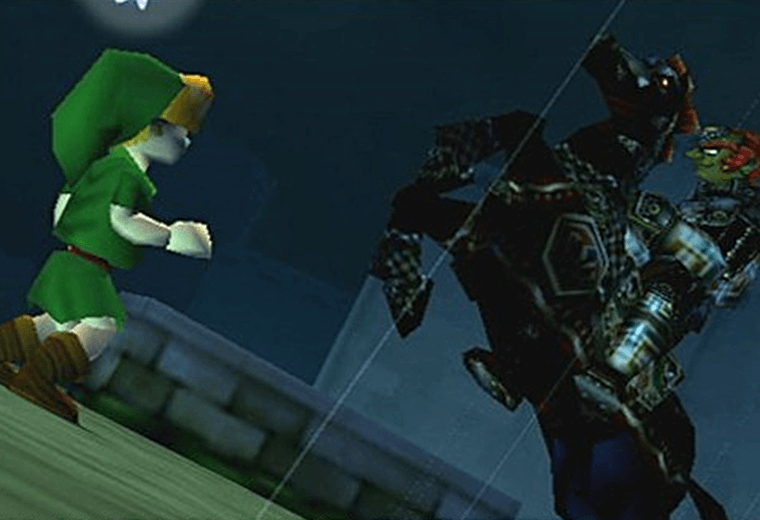Video still from The Legend of Zelda: Ocarina of Time