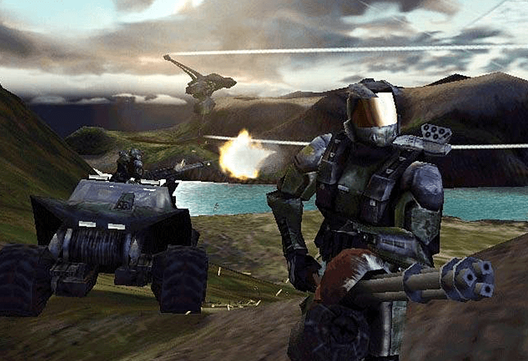 Scene from Halo