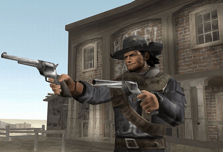 Cowboy game Red Dead Revolver