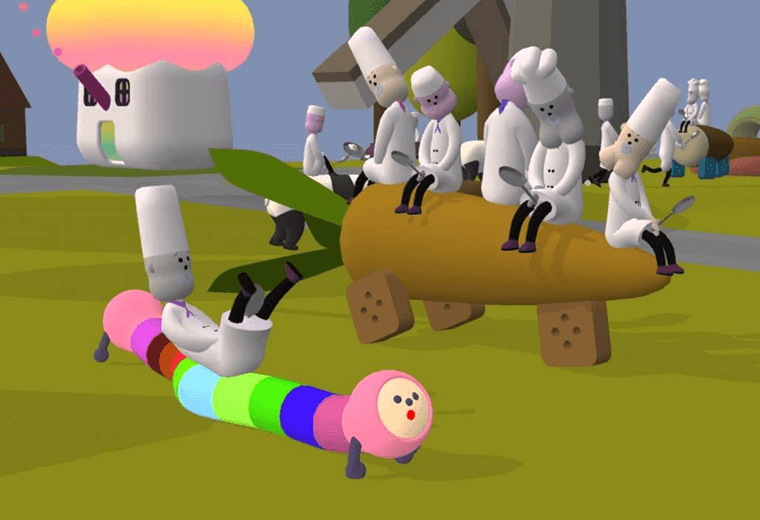 The game turns weirdness into an art form.