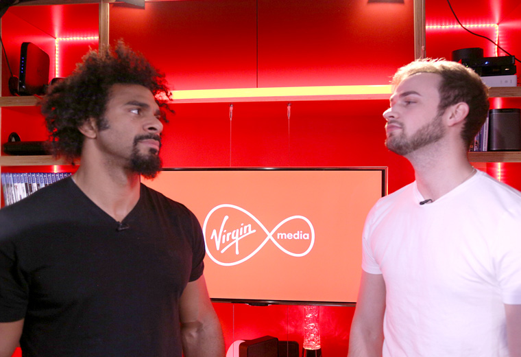 David Haye & Ali-A gaming Q&A