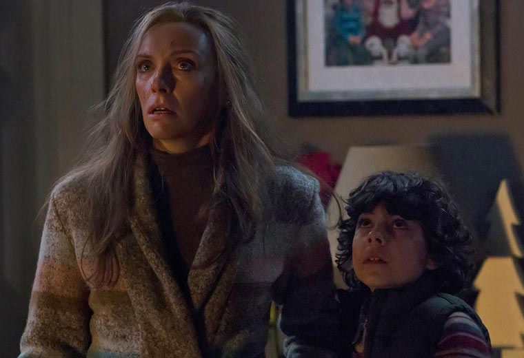 Toni Collette plays a mum who's lost her Christmas spirit