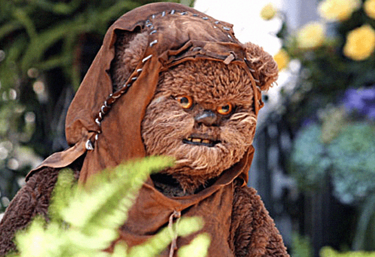 The Ewoks were fond of practical jokes