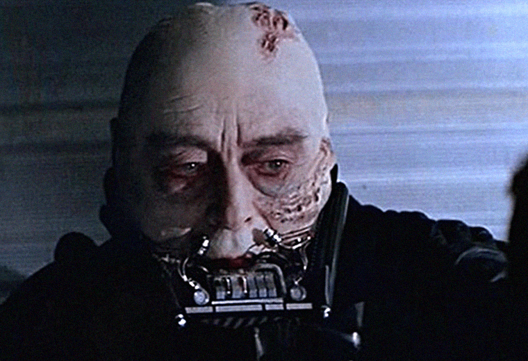Vader's heavy breathing was almost much worse