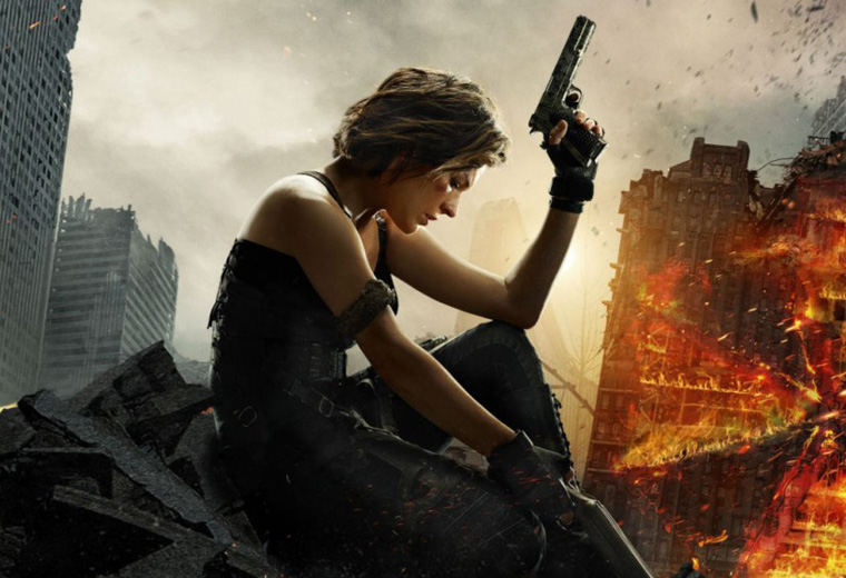 Evil comes home.  Again, Resident Evil: The Final Chapter - 24 Feb