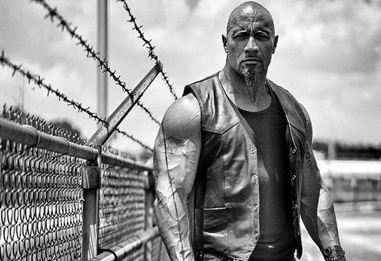 Dwayne Johnson showcases Hobbs's new look, Fast & Furious 8 - 14 Apr