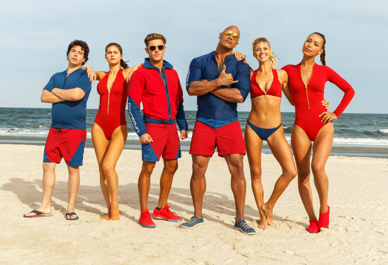 Are you beach ready? Baywatch - 12 May