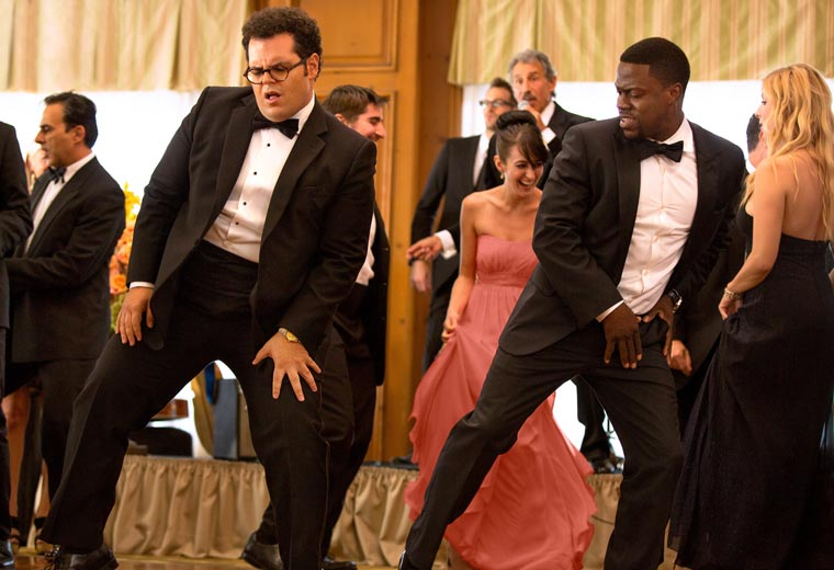 Kevin slides in as Josh Gad's best man in The Wedding Ringer (2015)