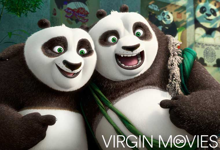 Watch Kung Fu Panda 3 now on Virgin Movies