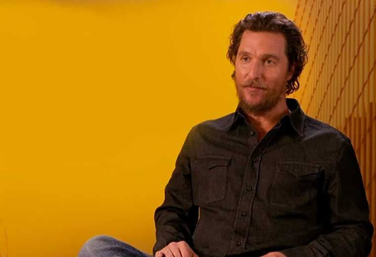 Exclusive interview with Matthew McConaughey