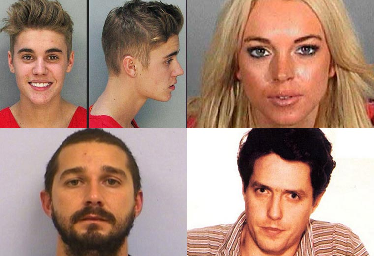 Celebrity mugshots you were never meant to see