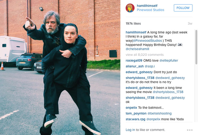Source: Instagram/@hamillhimself