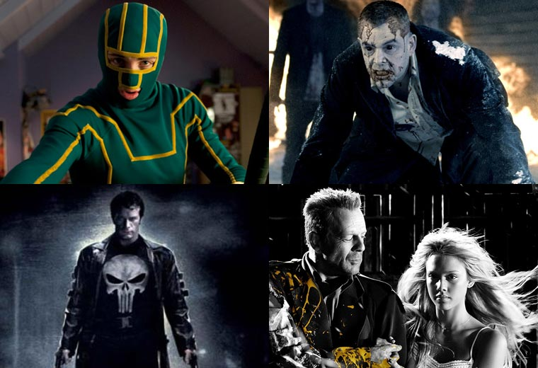 Comic-book movies that are strictly for adults
