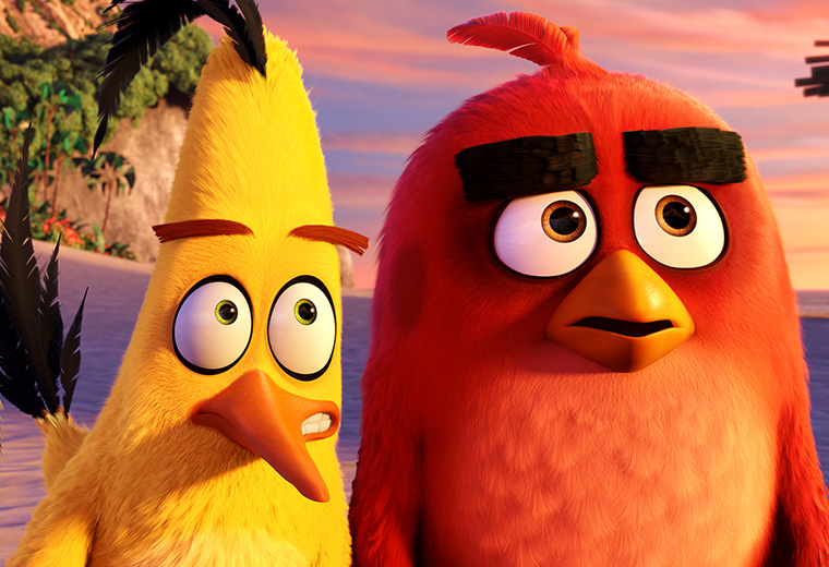 The Angry Birds Movie flaps on to Virgin Movies