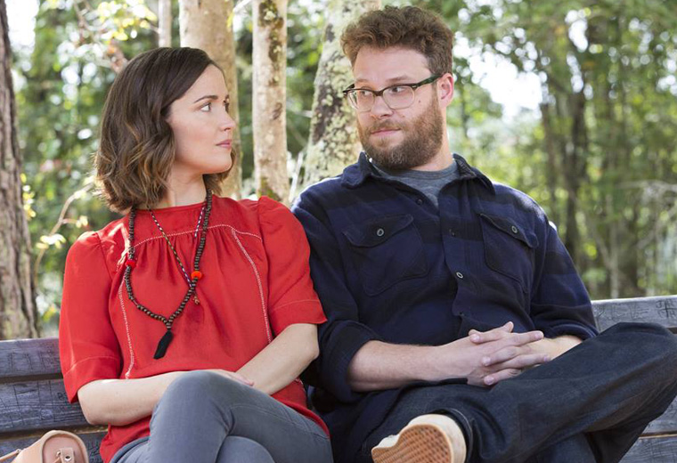 Rose Byrne and Seth Rogen discover there's a new war next door