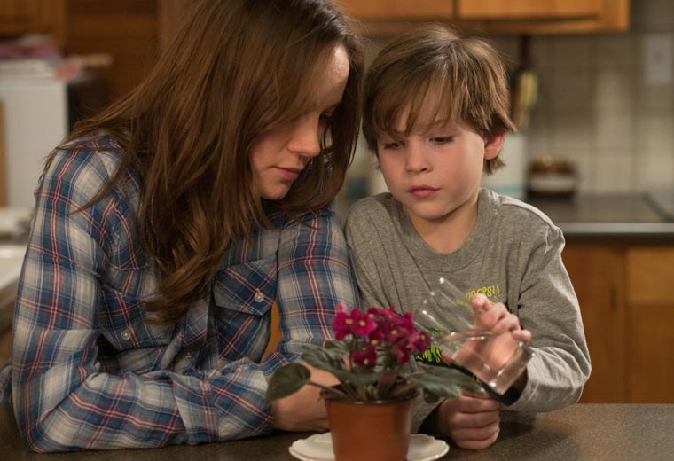 Leading Actress: Brie Larson for Room