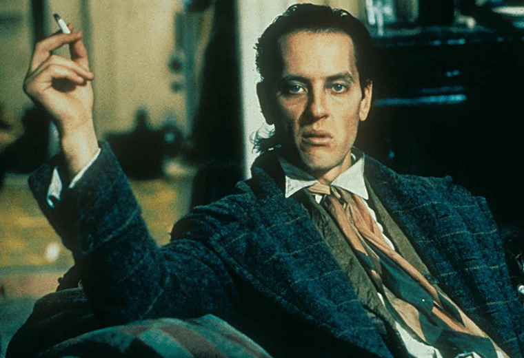 Richard E Grant's wild-eyed Withnail, one of the greatest characters in British cinema.