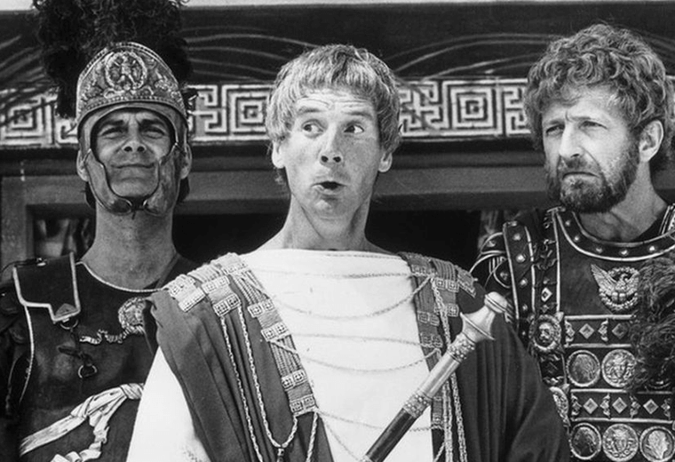 """He's not the Messiah, he's a very naughty boy!"" Anarchic humour from the Monty Python team."
