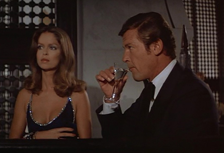 Shaken, stirred and occasionally muddled: the booze of Bond