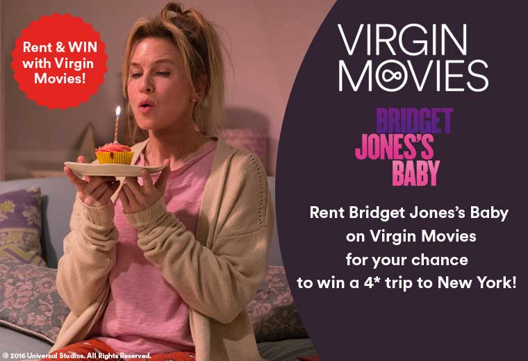 Rent & Win with Virgin Movies