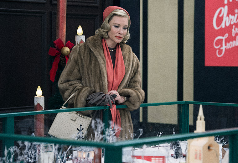 Cate Blanchett plays the glamorous Carol in Tod Haynes's melodrama