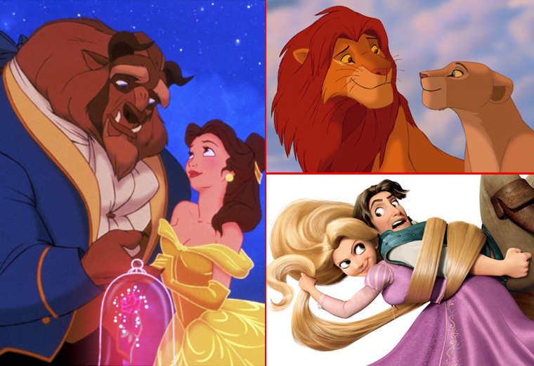 Our favourite Disney couples