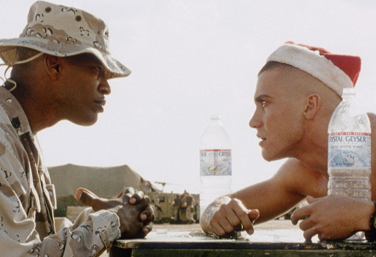 Jamie Foxx and Jake G go head to head in the desert