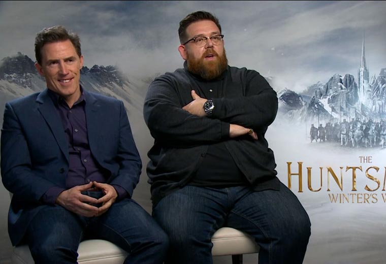 Exclusive interview with Rob Brydon, Nick Frost and Alexandra Roach