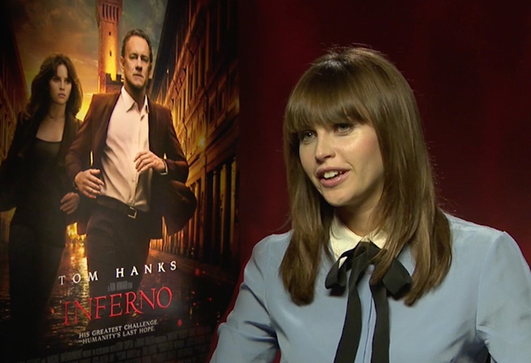 Exclusive interview with Felicity Jones
