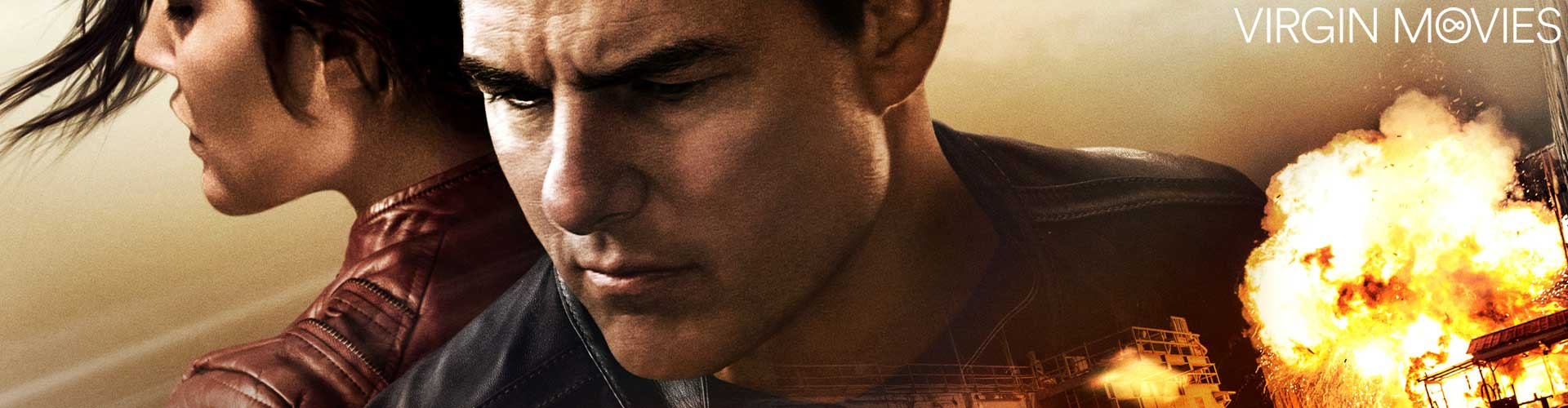 Jack Reacher: Never Go Back - available now on Virgin Movies