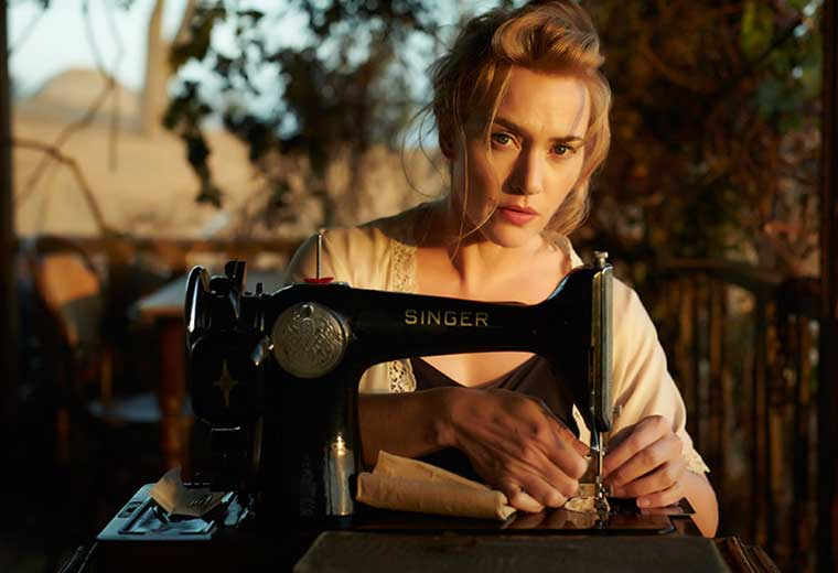 "Kate Winslet in The Dressmaker, ""Like Unforgiven, but with sewing machines"""