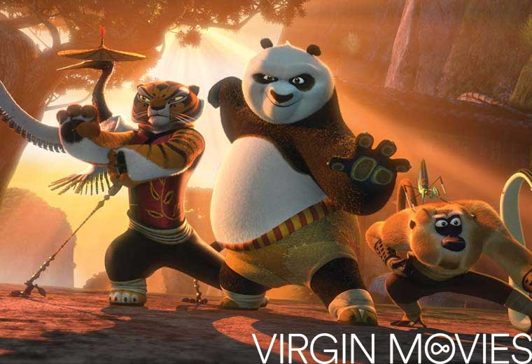 Watch Kung Fu Panda 2 on Virgin Movies for £2.49