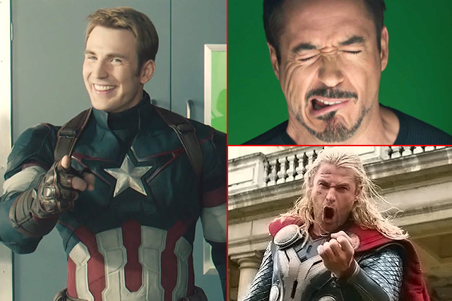 The funniest bloopers from the Marvel Cinematic Universe