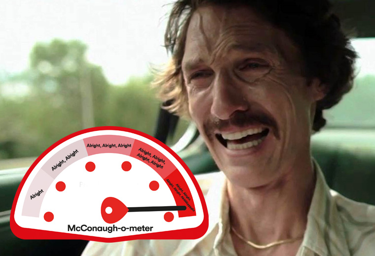 The McConaissance is complete