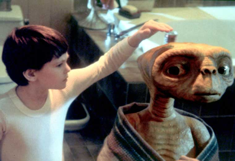 What is E.T short for? Because he's got little legs!