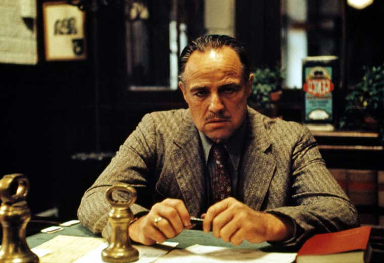 True fact: Brando was only 47 when he played the iconic role of Don Vito Corleone
