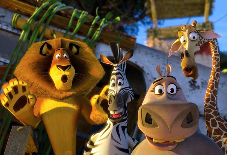 Watch the Madagascar Collection now on Virgin Movies