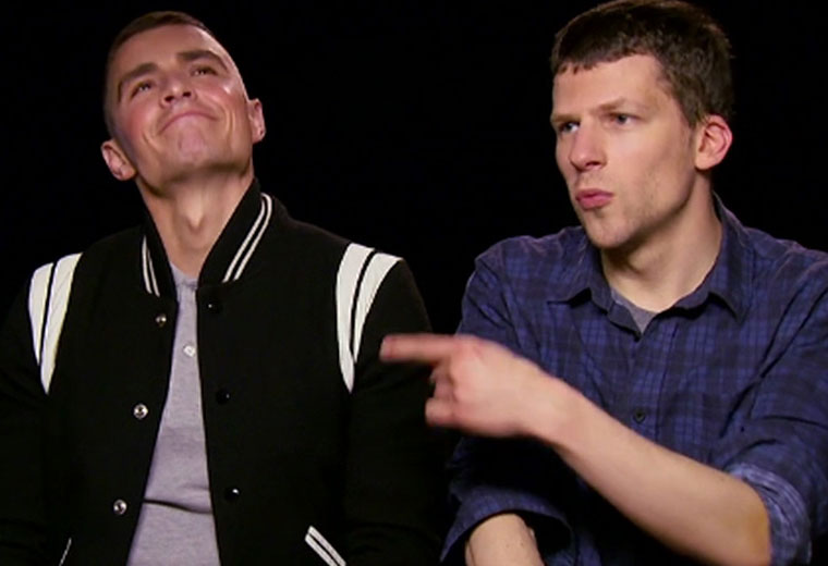 Now you see them: Exclusive interview with Dave Franco and Jesse Eisenberg
