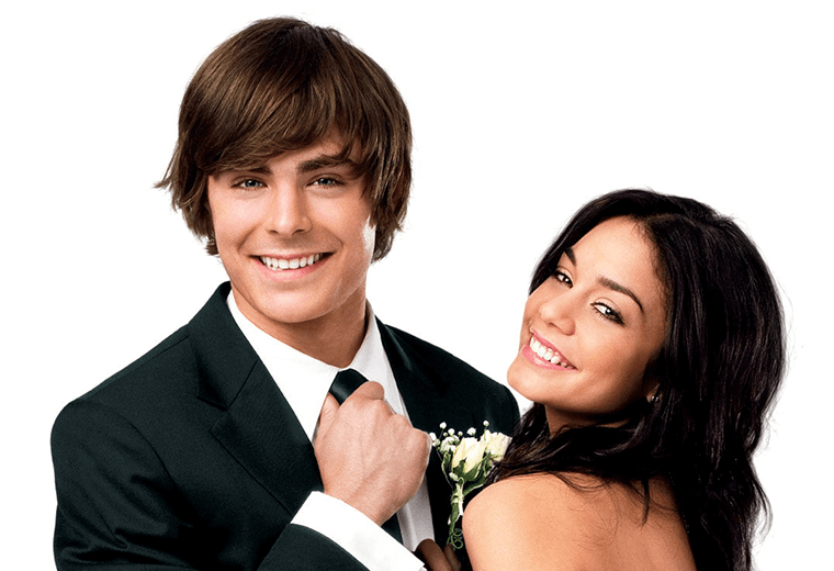 Efron & Hudgens, right off the bat they had a connection.